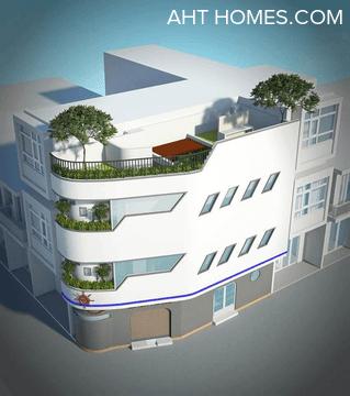 Thiết kế nhà ở kiến trúc du thuyền giữa lòng Hà Nội