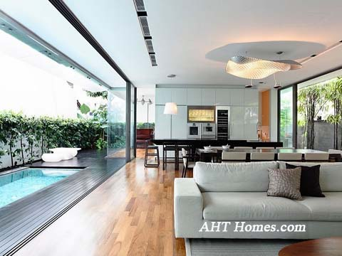 Nội thất được bố trí hợp lý tạo không gian thoáng mát, cảm giác thư giãn mỗi khi về nhà.