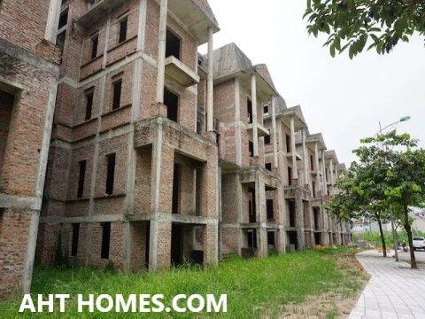 Báo giá hoàn thiện nhà biệt thự liền kề phân lô xây thô tại Hà Nội