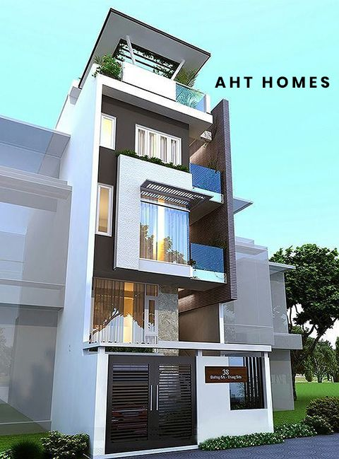 Công trình thiết kế nhà giá rẻ đã được thực hiện bởi công ty AHT Homes