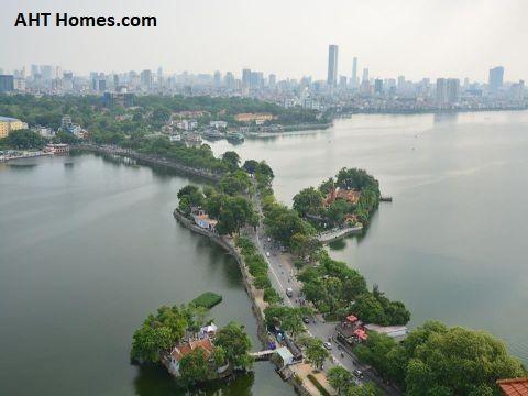 """Quận Tây Hồ được ví như """"lá phổi xanh"""" của thành phố Hà Nội"""