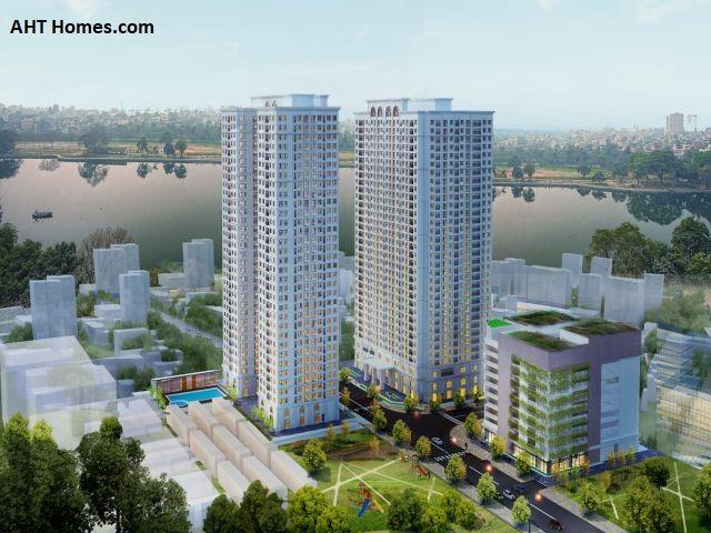 Rất nhiều công trình nhà ở, đô thịlớn được phê duyệt xây dựng tại quận Hoàng Mai