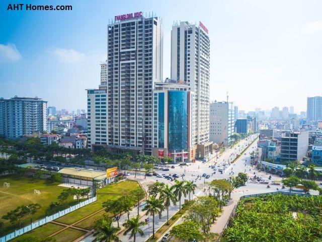 Các tuyến giao thông trọng điểm của thành phố Hà Nội hầu hết đi qua địa điểm này