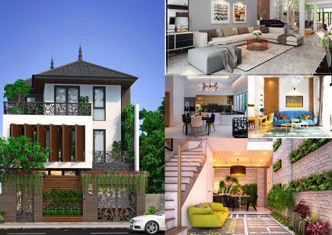 Thiết kế nhà ở huyện Thiệu Hóa