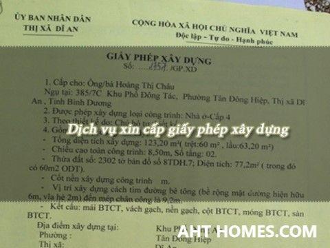 Dịch vụ xin cấp giấy phép xây dựng nhà ở huyện Quốc Oai