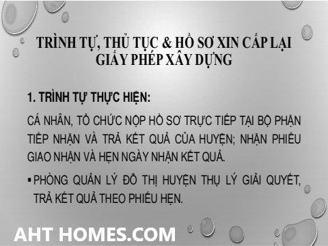 Dịch vụ xin cấp giấy phép xây dựng nhà ở huyện Sóc Sơn