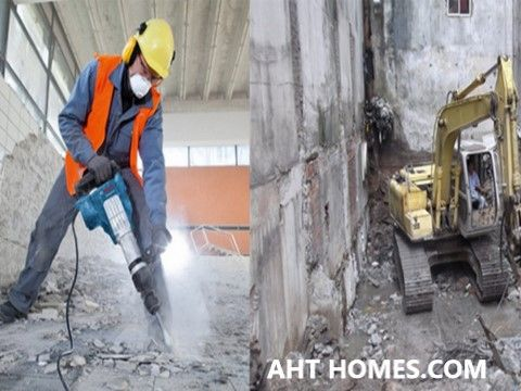 Báo giá chi phí phá tháo dỡ nhà cũ công trình Hà Nội