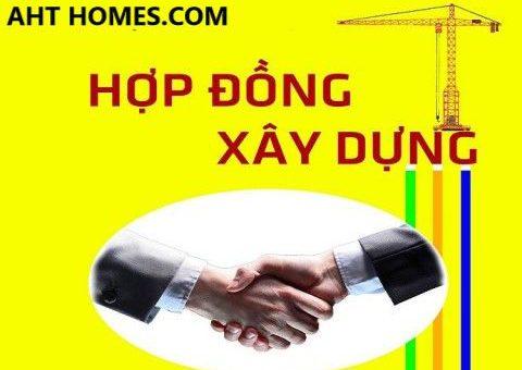 mau hop dong thi cong cai tao sua chua nha o tron goi moi nhat nam 2020 2