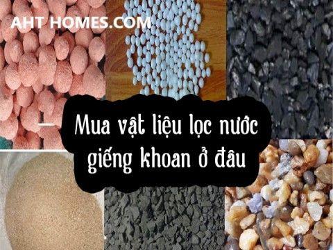 Báo giá vật liệu lọc nước tại Thanh Hóa