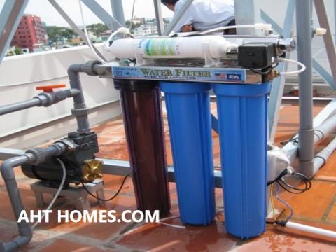 Báo giá hệ thống lọc xử lý nước sinh hoạt đầu nguồn gia đình Quận Hoàn Kiếm