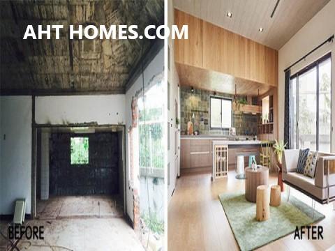 cách cải tạo sửa chữa nhà cũ đẹp