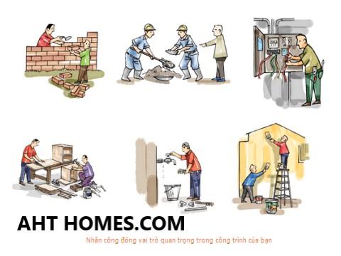 Nên xây nhà trọn gói hay tự thuê nhân công