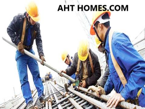 giá nhân công xây dựng năm 2022