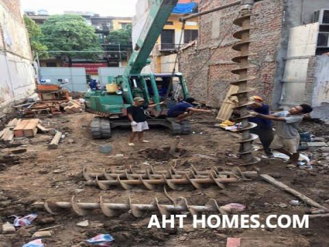 báo giá khoan dẫn cọc tại Hà Nội