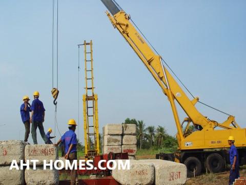 Đơn giá ép cọc bê tông cốt thép tại Hà Nội