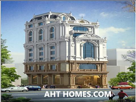 chi phí xây khách sạn phong cách cổ điển