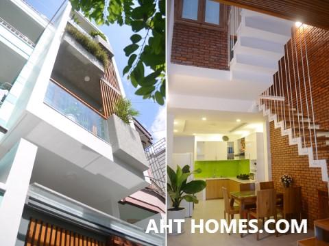 Chi phí xây dựng nhà phố lệch tầng mặt tiền 5m