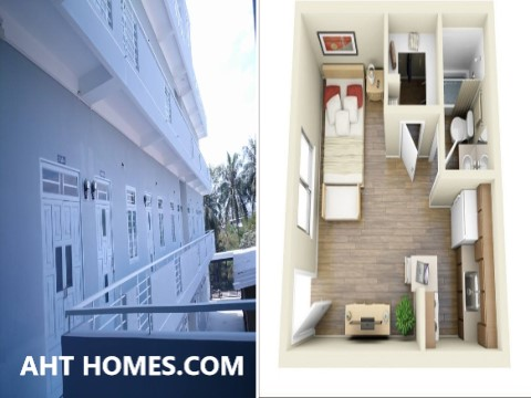 chi phí xây nhà trọ với thiết kế tối ưu diện tích