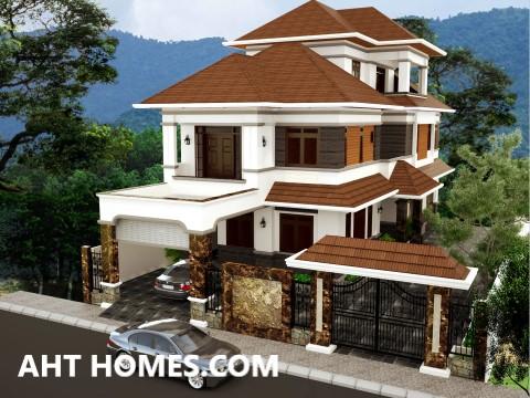 Thiết Kế Thi công xây nhà trọn gói nhà phố quận Hoàn Kiếm Hà Nội Chú Mạnh