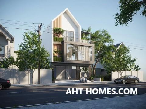 Thiết Kế Thi công xây nhà trọn gói nhà phố quận Hai Bà Trưng Hà Nội anh Đức