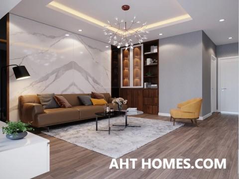 Thiết kế nhà ở phong cách hiện đại 6 tầng