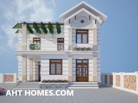 Thiết Kế Thi công xây nhà trọn gói nhà Biệt Thự quận Ba Đình Hà Nội anh Trường