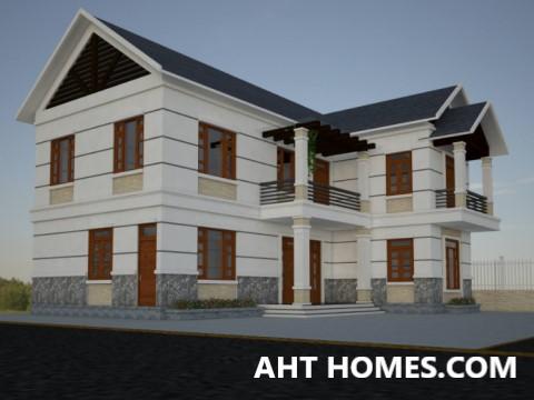 Thiết Kế Thi công xây nhà trọn gói nhà Biệt Thự quận Cầu Giấy Hà Nội cô Dung