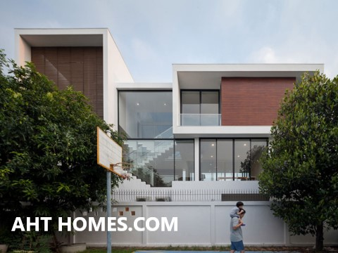 Thiết Kế Thi công xây nhà trọn gói nhà Biệt Thự huyện Thạch Thất Hà Nội anh Thịnh