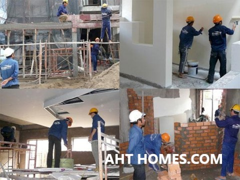 Xây nhà tại Hà Nội - lựa chọn đơn vị thi công uy tín