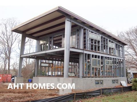 Chi phí xây nhà bằng thép tiền chế trên diện tích 100m2
