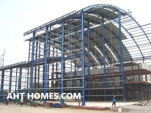 Chi phí xây nhà xưởng mái vòm