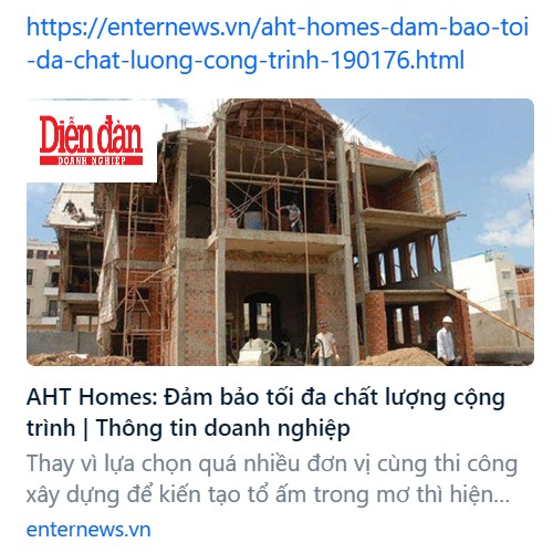 aht homes dam bao toi da chat luong cong trinh