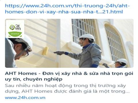 aht homes don vi xay nha sua nha tron goi uy tin chuyen nghiep hinh dai dien