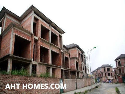 Hoàn thiện biệt thự liền kề xây thô khu đô thị An Hưng Hà Đông