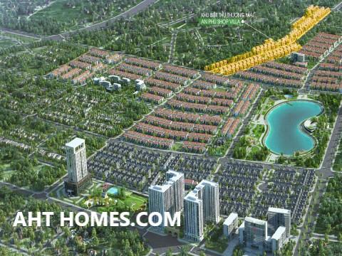 Hoàn thiện biệt thự liền kề xây thô khu đô thị An Phú Hà Đông