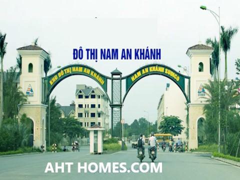 hoàn thiện biệt thự liền kề xây thô khu đô thị Nam An Khánh Hà Đông
