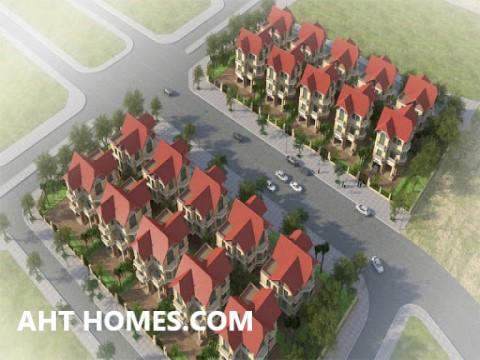 Hoàn thiện biệt thự liền kề xây thô khu đô thị Phú Lương Hà Đông