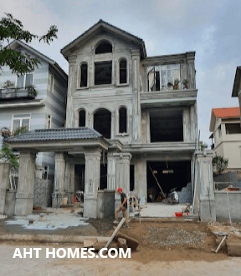 Hoàn thiện biệt thự liền kề xây thô khu đô thị Văn Khê Hà Đông