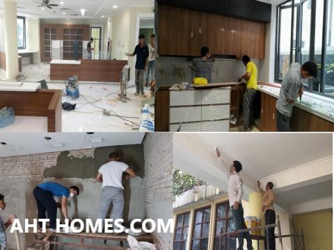 Hoàn thiện biệt thự liền kề xây thô khu đô thị Văn Phú Hà Đông