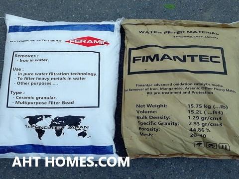 Feramic và Fimantec hạt lọc Sắt và Mangan