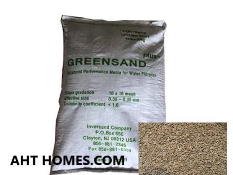 Green Sand vật liệu lọc sắt, mangan và kim loại nặng