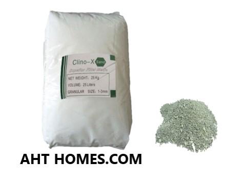 Hạt Clino-X khử Amoni Asen hiệu quả