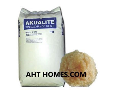 Hạt nhựa trao đổi ion Akualite C-107