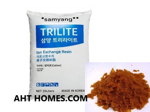 Hạt trao đổi ion Trilite MC08 Hàn Quốc