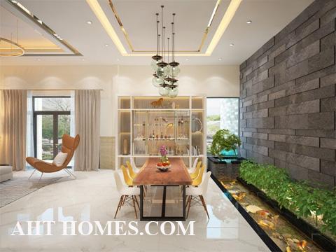Hoàn thiện biệt thự liền kề xây thô khu đô thị The 102 Residences Đống Đa