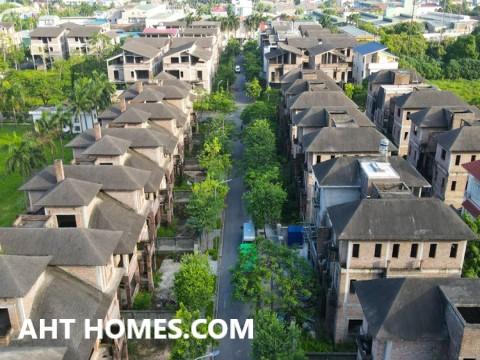 Hoàn thiện biệt thự liền kề xây thô khu đô thị Xa La Hà Đông