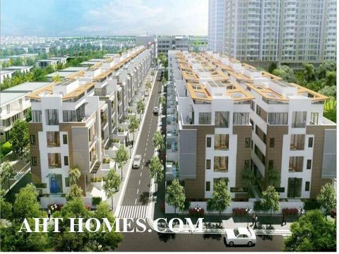 Hoàn thiện biệt thự liền kề xây thô khu đô thị Đại Kim Hoàng Mai